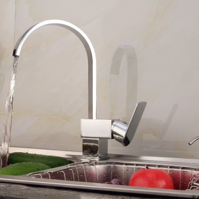 Гаджет   Lidanda Fechi Brass Kitchen Basin Mixer Tap Water Faucet with Single Port Tools