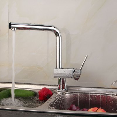 Lidanda Budas Brass Kitchen Basin Mixer Tap Water Faucet with Single Port