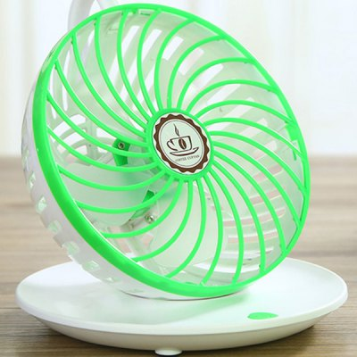 Coffee Cup Type Mini Portable Mute Cooling USB Fan Desk Cooler for Computer Laptop