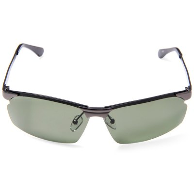 8636 Outdoor Sports Polarized Lens Metal Frame Goggles Sun Glasses for Men