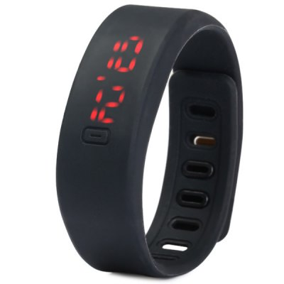 HZ55 Date Display LED Sports Watch with Red Digital Rectangle Dial Rubber BandLED Watches<br>HZ55 Date Display LED Sports Watch with Red Digital Rectangle Dial Rubber Band<br><br>People: Unisex table<br>Watch style: Fashion&amp;Casual, LED, Wristband Style<br>Available color: Orange, Gray, Black, Red, Blue<br>Shape of the dial: Rectangle<br>Movement type: Digital watch<br>Display type: Digital<br>Case material: Rubber/Silicone<br>Band material: Rubber<br>Clasp type: Buckle<br>Special features: Date<br>The dial thickness: 0.9 cm / 0.35 inches<br>The dial diameter: 2.1 cm / 0.83 inches<br>The band width: 2.1 cm / 0.83 inches<br>Product weight: 0.024 kg<br>Package weight: 0.074 kg<br>Product size (L x W x H) : 24 x 2.1 x 0.9 cm / 9.43 x 0.83 x 0.35 inches<br>Package size (L x W x H): 25 x 3.1 x 1.9 cm / 9.83 x 1.22 x 0.75 inches<br>Package contents: 1 x HZ55 LED Sports Watch