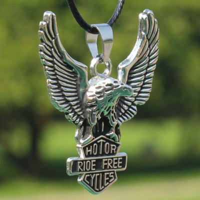 Modern Eagle Pendant Necklace For Men