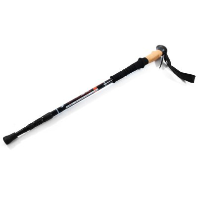 Adjustable Wuxian Ultra Light Telescopic Carbon 80 Percent Hiking Walking Stick Trekking Pole Alpenstock with 3 Section