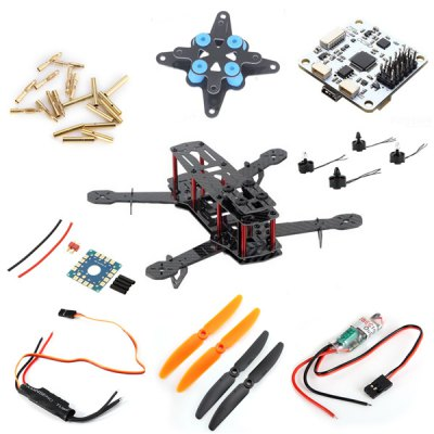 2 Pairs 5030 RC Airplane 2-Blade H250 Glassy Carbon Mini Multicopter DIY Accessories