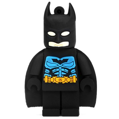 2GB Portable Mini Cartoon Bat Man Flash Memory Drive U Disk