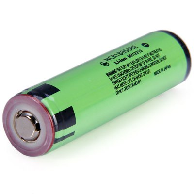 Гаджет   2 x  3.7V 3200mAh 18650 Rechargeable Protected Li - ion Battery ( NCR18650BE ) Batteries