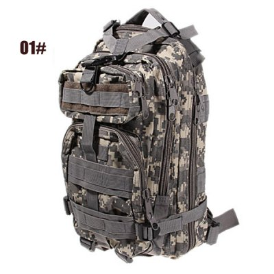 Гаджет   Multi - function Combination Outdoor Camouflage Tactical Backpack Cycling Knapsack Backpacks
