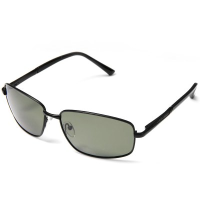 8807 Men Light Green Polarized Lens Metal Frame Sunglasses Springy Ear - stems with Oracle Pattern от GearBest.com INT