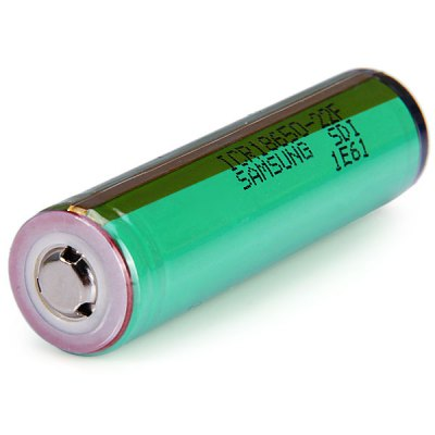 Гаджет   3.7V 2200mAh 18650 Rechargeable Protected Li - ion Battery ( ICR18650  -  22F 2 pcs )