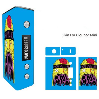 Monster Pattern Full Body Vinyl Sticker Skin for Cloupor Mini