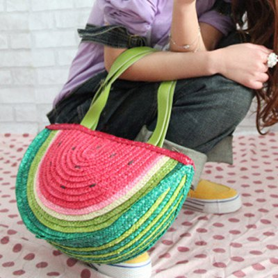 Cute Weaving and Watermelon Design Womens Shoulder BagWomens Bags<br>Cute Weaving and Watermelon Design Womens Shoulder Bag<br><br>Handbag Type: Shoulder bag<br>Style: Fashion<br>Gender: For Women<br>Pattern Type: Patchwork<br>Handbag Size: Medium(30-50cm)<br>Closure Type: Zipper<br>Interior: Cell Phone Pocket<br>Occasion: Versatile<br>Main Material: Straw<br>Weight: 1.200KG<br>Size(CM)(L*W*H): 38*13*23<br>Strap Length: 22CM<br>Package Contents: 1 x Shoulder Bag