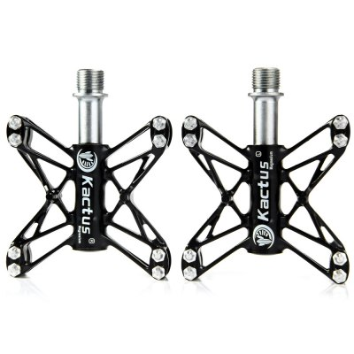 Kactus KTPD  -  13C CNC MTB Mountain Bike Platform Flat Pedals with Magnesium Steel Axle  -  2PCSBike Parts<br>Kactus KTPD  -  13C CNC MTB Mountain Bike Platform Flat Pedals with Magnesium Steel Axle  -  2PCS<br><br>Type: Pedals, Bicycle Pedals<br>Brand Name: Kactus<br>Model Number: KTPD-13C<br>Material: Magnesium Alloy + CNC Stainless Steel<br>Functions: Antiskid, Flexible<br>Features: Non-slip, Ultralight<br>Suitable for : Bike, Mountain Bicycle, Road Bike<br>Color: White, Gray, Black<br> Product weight : 0.210 kg<br>Package weight : 0.345 kg<br>Product size (L x W x H)   : 10.5 x 7.8 x 2.5 cm / 4.13 x 3.07 x 0.98 inches<br>Package size (L x W x H)  : 22.0 x 12.0 x 4.5 cm / 8.65 x 4.72 x 1.77 inches<br>Package Contents: 2 x Kactus KTPD-13C Bike MTB BMX Flat CNC 3 Bearing Pedal
