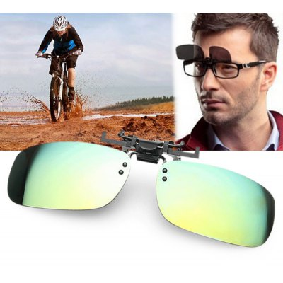 Anti-UV Square Sunglasses Clip
