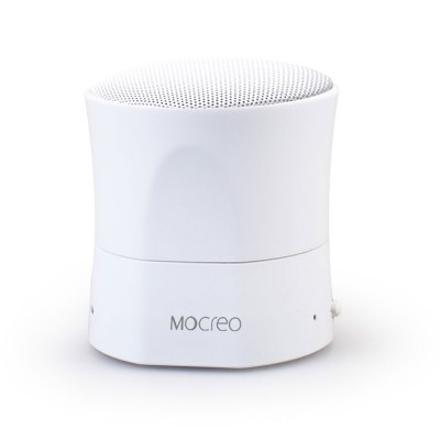 MOCREO MOSOUND MINI Wireless Bluetooth V3.0 Speaker with Hands - free Calls for iPhone / iPad / Android / ComputerSpeakers<br>MOCREO MOSOUND MINI Wireless Bluetooth V3.0 Speaker with Hands - free Calls for iPhone / iPad / Android / Computer<br><br>Brand: MOCREO<br>Model: MOSOUND MINI<br>Design: Stylish, Mini<br>Supports: Microphone, Hands-free Calls, Bluetooth, Loudspeaker<br>Functions: Stereo<br>Compatible With: iPhone, Tablet PC, MP5, Laptop, Mobile Phone, PSP, PC, iPod<br>Connection: Wireless<br>Interface: Micro USB<br>Audio Source: Bluetooth Enabled Devices<br>Color: Blue, Black, Orange, White<br>Bluetooth Version: V3.0<br>Transmission Distance: W/O obstacles 10m<br>Driver Unit: 40mm<br>Power Source: Battery<br>Charging Time: 3 hours<br>Lasting Time: 4 - 6 hours, depending on the volume<br>Battery Capacity: 350mAh<br>Operating Range: 10 m<br>Product Weight: 0.163 kg<br>Package Weight: 0.260 kg<br>Product Size (L x W x H): 6.5 x 6.5 x 6.5 cm / 2.55 x 2.55 x 2.55 inches<br>Package Size (L x W x H): 10.5 x 8.0 x 7.5 cm / 4.13 x 3.14 x 2.95 inches<br>Package Contents: 1 x MOCREO MOSOUND MINI Wireless Bluetooth V3.0 Speaker, 1 x USB Cable, 1 x User Manual in Chinese / English / Japanese / Italian / French / Spanish / Deutsch