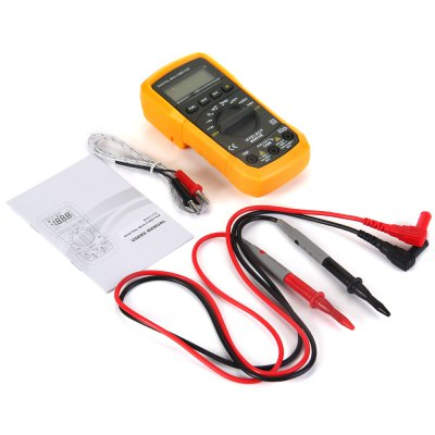 Фотография HYELEC MS8233E Multifunctional Digital Multimeter Auto Manual Ranging DC AC Voltmeter Thermometer