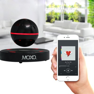 Newest MOXO X  -  1 Mini Bluetooth 4.1 Speaker Wireless Maglev 3D Music Player with NFC Function