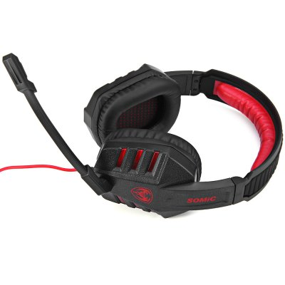 Somic G927PRO Super Deep Bass 7.1 Virtual Surround Sound USB Gaming Headset with Mic Voice Control