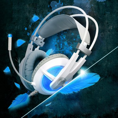 Somic G938 Super Deep Bass 7.1 Virtual Surround Sound USB Gaming Headset with Mic Voice Control