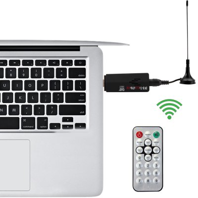 R820T RTL2832U USB DVB-T RTL-SDR FM DAB Tuner TV Set with IEC nterface Remote Controller