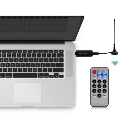 R820T 2832u USB2.0 DVB - T DAB FM TV Receiver Tuner Set with Remote Controller for PC