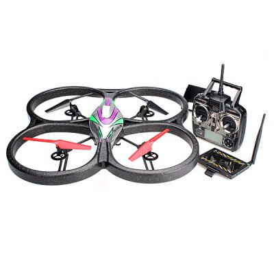 ФОТО WLtoys V666N 5.8GHZ FPV Barometer Sensor 6 Axis Gyro 2.4G 4CH RC Quadcopter with 2.0MP HD Camera