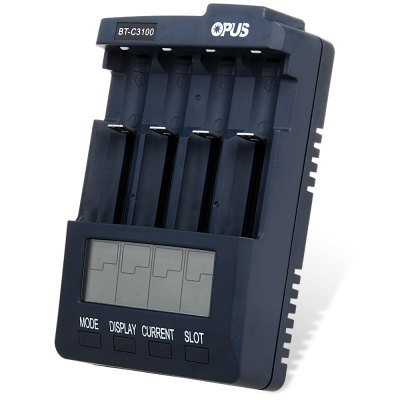 Opus BT  -  C3100 V2.2 Li - ion Digital NiCd NiMH Battery Charger ( EU Plug )