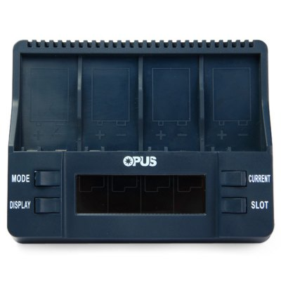 Фотография Opus BT  -  C900 Intelligent 9V Lithium - ion NiMH LCD Fast Battery Charger - US Plug