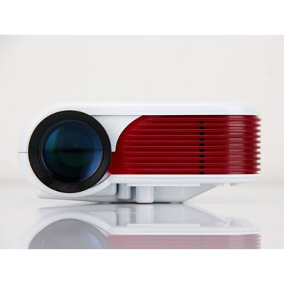 Ourspop OP  - 688 Portable LED Projector 180 Lumens Digital Video Game Proyector 640 x 480 Resolution