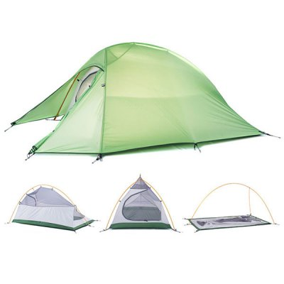 Naturehike NH15T002 - T 190T Nylon Double Layer Water Resistant Tent