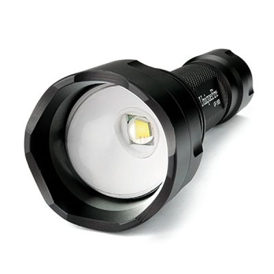 UniqueFire 1505 Cree XM L2 1200Lm Zoom LED Flashlight 5 Modes 18650 TorchLED Flashlights<br>UniqueFire 1505 Cree XM L2 1200Lm Zoom LED Flashlight 5 Modes 18650 Torch<br><br>Brand: UniqueFire<br>Model: 1505<br>Lamp Beads: Cree XM-L2<br>Beads Number: 1 x Cree XM-L2<br>Lumens Range: &gt;1000Lumens<br>Luminous Flux: 1200Lm<br>Color Temperature: 6300-7000K<br>Switch Type: Clicky<br>Switch Location: Tail Cap<br>Function: Camping,EDC,Exploring,Hiking,Hunting,Night Riding,Seeking Survival,Walking<br>Battery Type: 18650<br>Battery Quantity: 1 x 18650 battery (not included)<br>Zooming: Yes<br>Power Source: Battery<br>Reflector: No<br>Lens: Glass Convex Lens<br>Beam Distance: 100-200m<br>Body Material: Aluminium Alloy<br>Available Light Color: Cool White<br>Available color: Black<br>Max.: 1 - 2 hrs<br>Product weight: 0.154 kg<br>Package weight: 0.210 kg<br>Product size (L x W x H): 13.40 x 4.50 x 4.50 cm / 5.28 x 1.77 x 1.77 inches<br>Package size (L x W x H): 16.00 x 6.00 x 6.00 cm / 6.3 x 2.36 x 2.36 inches<br>Package Contents: 1 x UniqueFire 1505 Flashlight, 1 x Lanyard