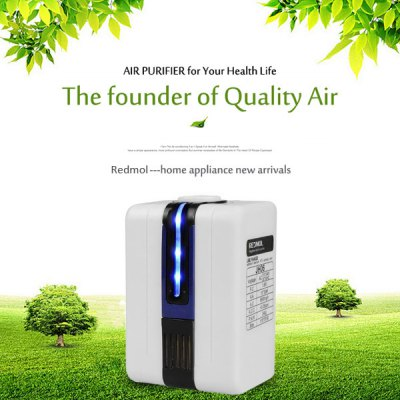 AC 110 - 220V Mini Negative Ion Air Purifier Home Anion Air Cleaner Refresher