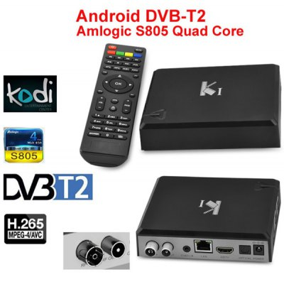 ACEMAX KI DVB-T2 Android 4.4 TV Box Amlogic S805 Quad Core 1GB RAM 8GB ROM