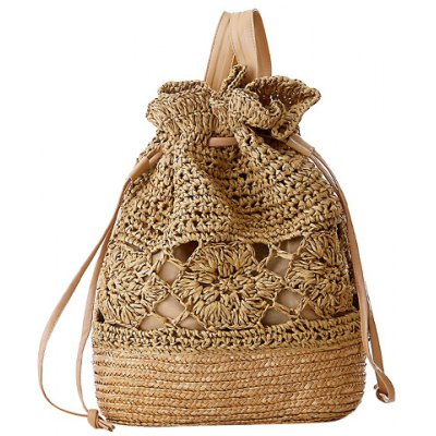 Weaving Design Satchel For Women