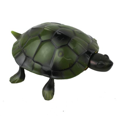 Infrared Remote Control Simulation Brazil Turtle Toy Animal Model