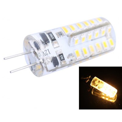 G4 2.5W 48 x SMD 3014 LED Corn Lamp 2800 - 3200K
