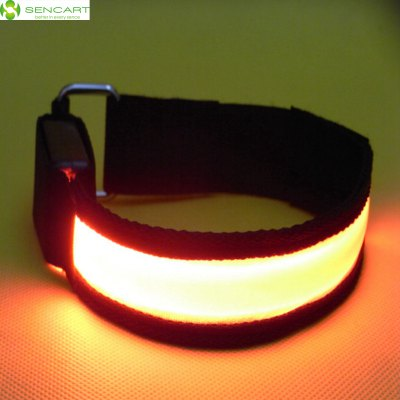 Sencart Gleamy Bracelet Flashing Wristband Armband Strap for Outdoor Activities