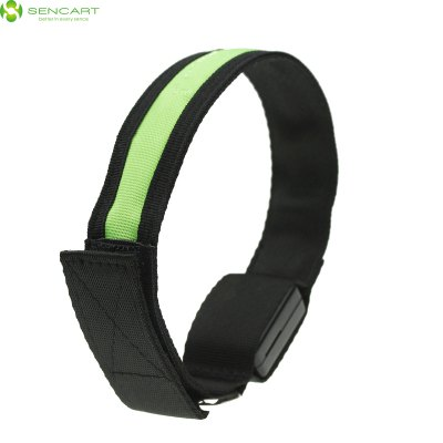 Sencart Gleamy Bracelet Flashing Wristband Armband Strap for Outdoor ActivitiesNovelty lighting<br>Sencart Gleamy Bracelet Flashing Wristband Armband Strap for Outdoor Activities<br><br>Brand: Sencart<br>Feature: LED Light<br>Optional Color: Red,Blue,Green,Orange,Yellow<br>Package Contents: 1 x LED Armband<br>Package size (L x W x H): 10 x 5 x 4 cm / 3.93 x 1.97 x 1.57 inches<br>Package weight: 0.110 kg<br>Product size (L x W x H): 32 x 2.5 x 0.2 cm / 12.58 x 0.98 x 0.08 inches<br>Product weight: 0.035 kg