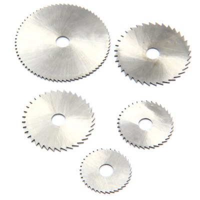 WLXY 6PCS HSS Saw Blade Cutting Discs with Mandrel Shank Circular Rotary Tool Set
