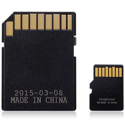 SanDisk Ultra microSDHC UHS - I 32GB High Speed 80MB/s Class 10 SD Memory Card + Adapter