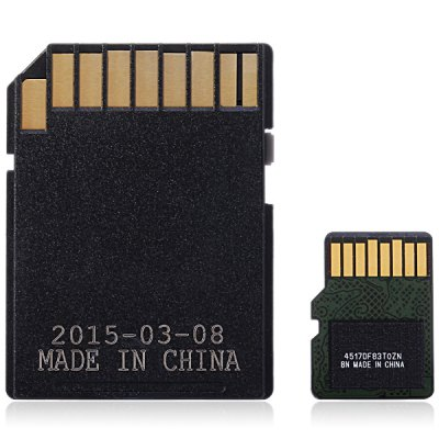 SanDisk Ultra microSDHC UHS - I 64GB High Speed 80MB/s Class 10 SD Memory Card + Adapter