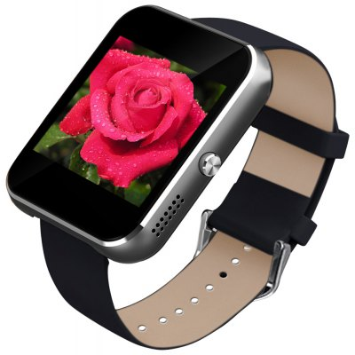 Zeblaze Rover Toughened OGS Panel Smart Watch MTK2501 Bluetooth 4.0 with Premium Leather Strap