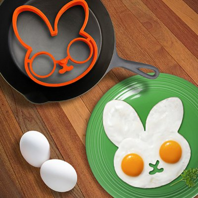 Lovely Egg Shaper Silicone Ring Moulds Creativity Health Frying Cooking Eggs Interesting Kitchen GadgetsEgg Tools<br>Lovely Egg Shaper Silicone Ring Moulds Creativity Health Frying Cooking Eggs Interesting Kitchen Gadgets<br><br>Color: Rose Red<br>Package Contents: 1 x Rabbit Fried Egg Mold<br>Package size (L x W x H): 15.00 x 15.00 x 3.00 cm / 5.91 x 5.91 x 1.18 inches<br>Package weight: 0.1000 kg<br>Product size (L x W x H): 11.00 x 14.00 x 2.00 cm / 4.33 x 5.51 x 0.79 inches<br>Product weight: 0.0400 kg