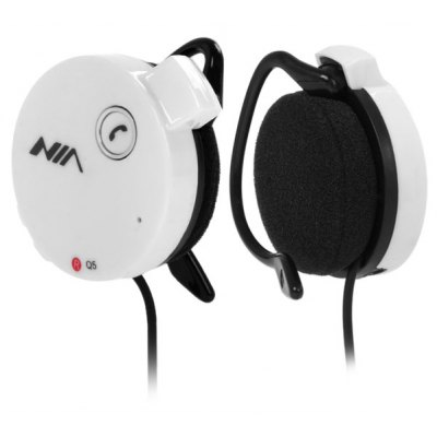 NIA Q5 Bluetooth 2.1 + EDR Hands Free Stereo Sports Headset Headphone Support FM Function