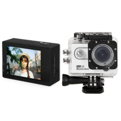 Blackview Hero 2 RF 2 inch Screen AMB A7LA50 Chipset Sports Video Camera CamcorderAction Cameras<br>Blackview Hero 2 RF 2 inch Screen AMB A7LA50 Chipset Sports Video Camera Camcorder<br><br>Brand: Blackview<br>Chipset Name: Ambarella<br>Model: Hero 2 RF<br>Type: Sports Camera<br>Chipset: Ambarella A7LA50<br>Internal memory: 1GB<br>Max External Card Supported: TF 64G (not included)<br>Class Rating Requirements: Class 10 or Above<br>Screen size: 2.0inch<br>Screen type: LCD<br>Screen resolution: 960 x 240<br>Charge way: AC adapter,USB charge by PC<br>Working Time: 90 minutes 1080P 30fps<br>Battery Type: Removable<br>Power Supply: 5V / 2A<br>Image Sensor: OV4689<br>Decode Format: H.264<br>Video format: MOV<br>Video Resolution: 1269P (2304 x 1296),2560x1080,1080P (1920 x 1080),720P (1280 x 720)<br>Video System: PAL,NTSC<br>Video Frame Rate: 30FPS,60FPS<br>Video Output : HDMI<br>Image Format : JPG<br>Image resolution: 16M(5312x2988),14M(4800x2700),9M(4000x2250),4M(2688x1512)<br>Audio System: Built-in microphone/speacker (AAC)<br>HDMI Output: Yes<br>Interface Type: HDMI,USB 2.0,SD Card Slot<br>Language: English,Russian,Simplified Chinese,Traditional Chinese<br>Product weight: 0.188 kg<br>Package weight: 0.9 kg<br>Product size (L x W x H): 5.927 x 4.113 x 2.5 cm / 2.33 x 1.62 x 0.98 inches<br>Package size (L x W x H): 26 x 11 x 11 cm / 10.22 x 4.32 x 4.32 inches<br>Package Contents: 1 x Blackview Hero 2 RF Sports Camera, 1 x Watch, 1 x Battery (1050mAh), 2 x 3M Adhesive Tape, 1 x Wire Rope, 4 x Ribbon, 1 x USB Cable, 5 x Base Accessories, 4 x Support Accessories, 2 x Clip Accesso