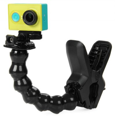 Flexible Clamp Serpentine Arm Clip Set for Xiaomi Yi Action Camera / Gopro Series / SJCAM