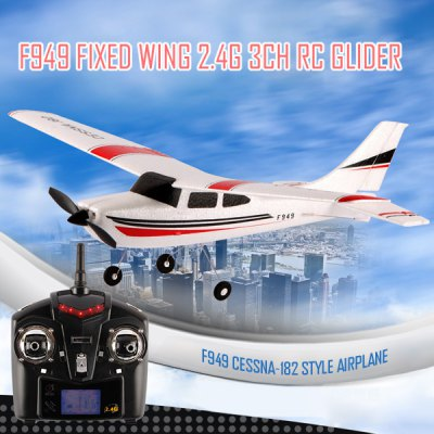 WLtoys F949 Cessna 182 2.4G 3 Channel RC Aircraft Fixed-wing RTF Airplane