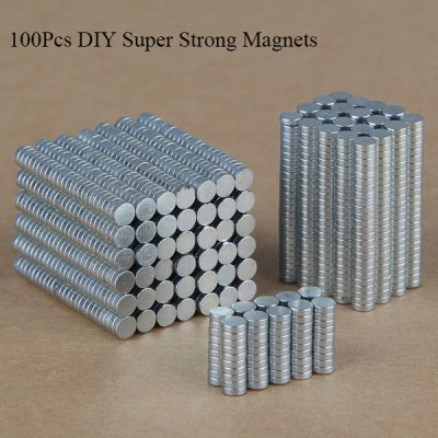 100Pcs 3 x 1.0mm Super Strong Magnets Rare Earth Magnet Set DIY Wide Use Magnetic Gadgets