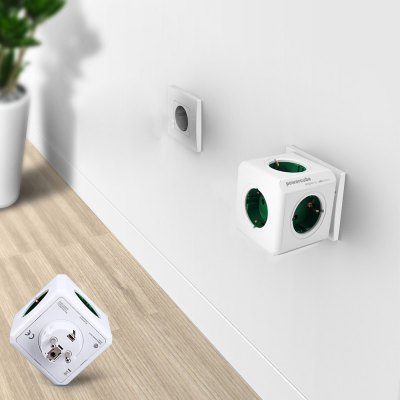 1 Piece Allocacoc 5 Outlets PowerCube Socket Original DE Plug Adapter  -  16A 250VPower Strips<br>1 Piece Allocacoc 5 Outlets PowerCube Socket Original DE Plug Adapter  -  16A 250V<br><br>Material: Electronic Components, ABS<br>Package Contents: 1 x Allocacoc PowerCube Original Socket, 1 x English User Manual<br>Package weight: 0.2500 kg<br>Product weight: 0.1890 kg