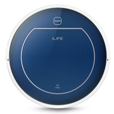 ILIFE V7 Super Mute Sweeping Robot Home Vacuum Cleaner Dust Cleaning with 2600mAh Li - batteryRobot Vacuum<br>ILIFE V7 Super Mute Sweeping Robot Home Vacuum Cleaner Dust Cleaning with 2600mAh Li - battery<br><br>Battery Capacity: 2600mAh<br>Battery Type: Lithium-ion battery<br>Brand: ILIFE<br>Cleaner Types: Vacuum Cleaner<br>Function: Mopping, Dry, Wet<br>Input Voltage (V)  : 24V<br>Package Contents: 1 x Sweeping Robot, 1 x Remote Control, 2 x AAA Battery, 1 x Side Brush, 2 x Mop, 2 x Strainer, 1 x Charging Base, 1 x Dusting Brush, 1 x English User Guide, 1 x Adapter<br>Package size (L x W x H): 53.00 x 42.00 x 13.50 cm / 20.87 x 16.54 x 5.31 inches<br>Package weight: 5.7500 kg<br>Power (W): 22W<br>Product size (L x W x H): 34.00 x 34.00 x 8.00 cm / 13.39 x 13.39 x 3.15 inches<br>Product weight: 2.9500 kg
