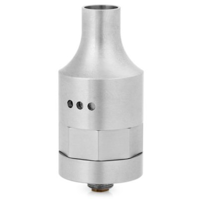 Mrs. Sy Style RDA 316 Stainless Steel Rebuildable E - Cigarette Atomizer Support Adjustable Air Flow - 510 ThreadVapor Styles<br>Mrs. Sy Style RDA 316 Stainless Steel Rebuildable E - Cigarette Atomizer Support Adjustable Air Flow - 510 Thread<br><br>Available Color: Silver<br>Coil Quantity: Dual coil<br>Feature: Cleanable, Detachable, Rebuildable<br>Material: Stainless Steel<br>Overall Diameter: 22mm<br>Package Contents: 1 x Atomizer, 3 x O-ring, 2 x Heating Wire, 3 x Screw<br>Package size (L x W x H): 10.00 x 7.00 x 4.00 cm / 3.94 x 2.76 x 1.57 inches<br>Package weight: 0.140 kg<br>Product size (L x W x H): 2.20 x 2.20 x 5.00 cm / 0.87 x 0.87 x 1.97 inches<br>Product weight: 0.051 kg<br>Rebuildable Atomizer: RBA,RDA<br>Thread: 510<br>Type: Rebuildable Drippers, Rebuildable Atomizer